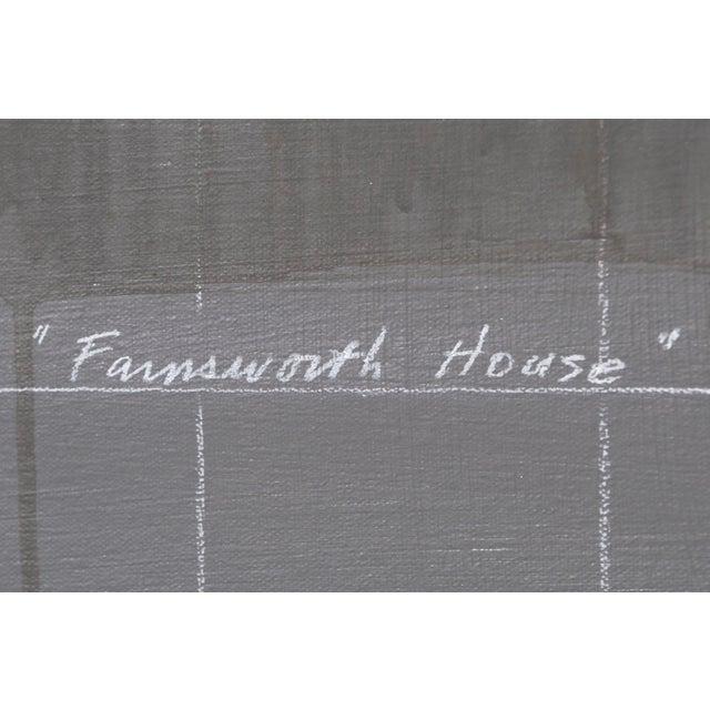 "2010s Tom Judd, ""Farnsworth House"" For Sale - Image 5 of 7"