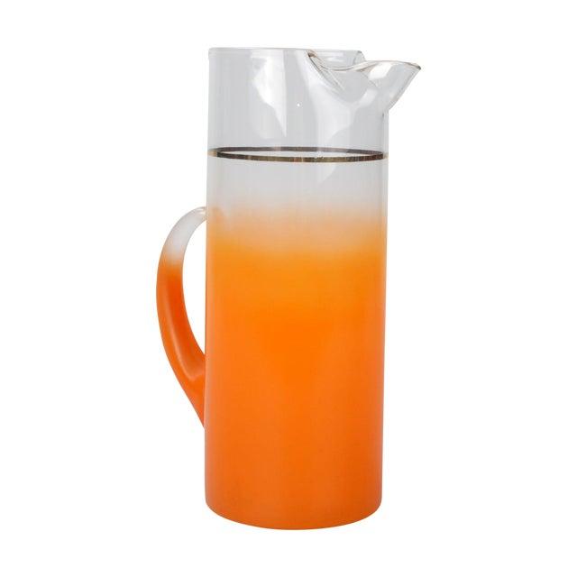 Orange Ombré Pitcher - Image 1 of 6