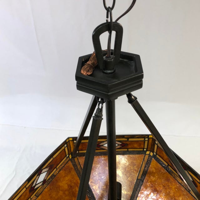 Quoizel Lighting Museum of New Mexico 3-Light Pendant For Sale - Image 4 of 12