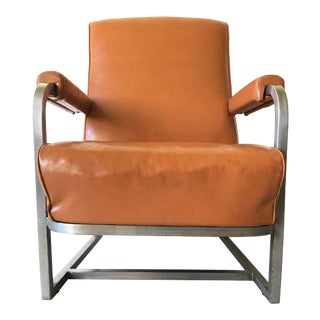1930s Art Deco Henry Dreyfuss Lounge Chair For Sale