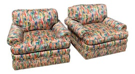 Image of Abstract Expressionism Club Chairs