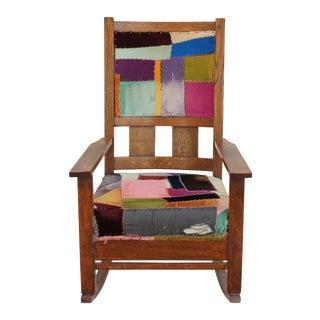 Patchwork Rocking Chair