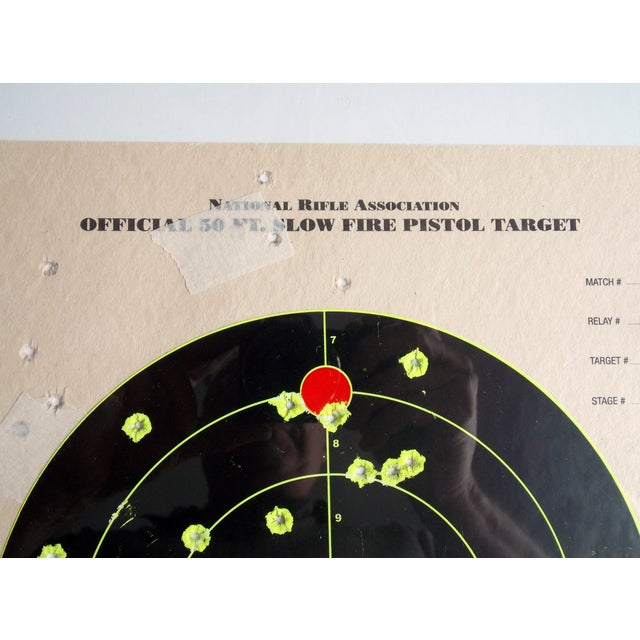 Framed NRA Shooting Target - Image 11 of 11