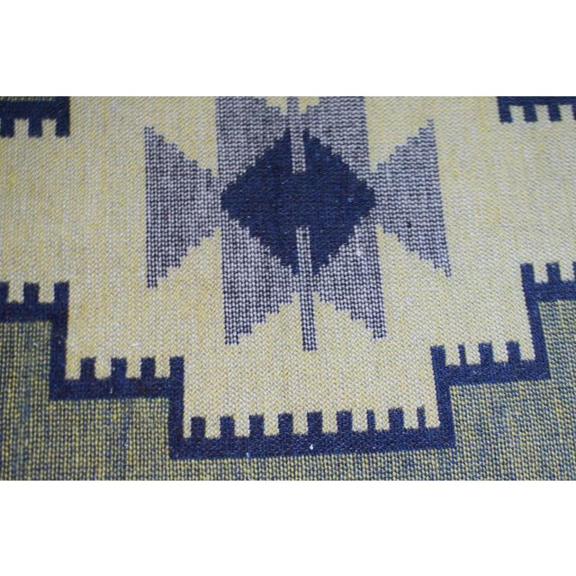 Textile Handmade Vintage Kilim Rug - 4′4″ × 2′6″ For Sale - Image 7 of 13