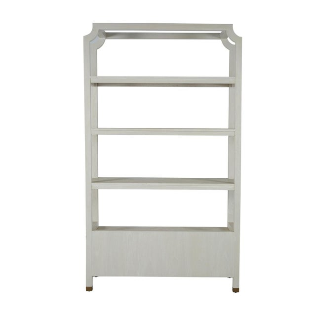Gabby Home Crest Bookcase For Sale - Image 9 of 13