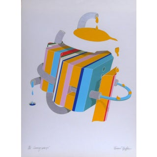 Werner Pfeiffer Sunny-Side Up Lithograph For Sale