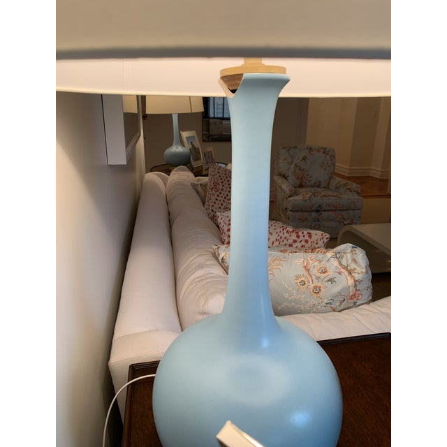 Contemporary Christopher Spitzmiller Coy Large Table Lamp Set For Sale - Image 3 of 10