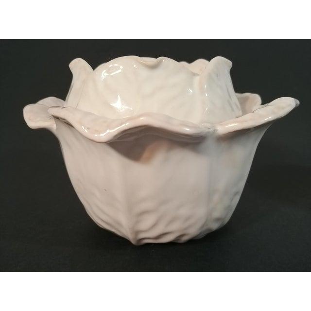 Italian Mid-Century Italian Ceramic Cabbage Bowls - Set of 3 For Sale - Image 3 of 9