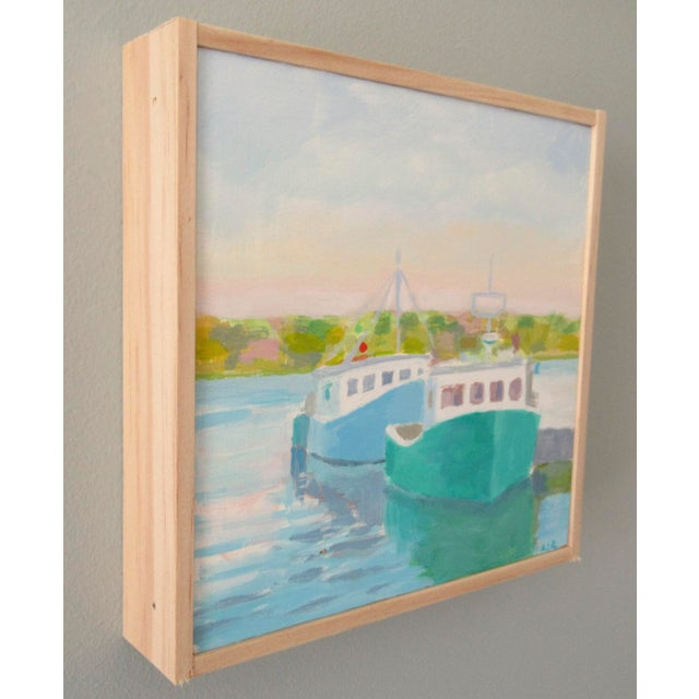 Modern Harbor by Anne Carrozza Remick For Sale - Image 3 of 5