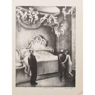 """1939 Mable Dwight, """"Museum Guard"""" Photogravure"""