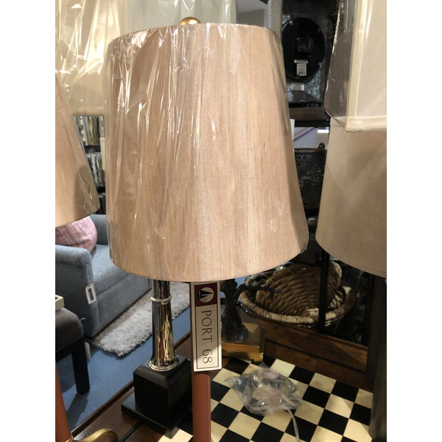 Contemporary Portobella Buffet Lamps - a Pair For Sale - Image 3 of 9