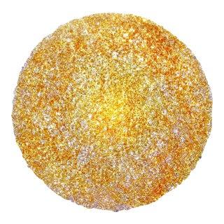 Tondo 120 Wall Light in Gold Polycarbonate by Jacopo Foggini For Sale