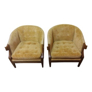 Baker Furniture Club Chairs - A Pair