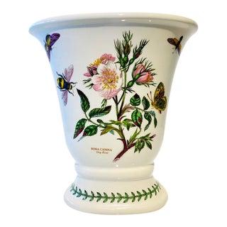 Portmerian English Botanic Garden Vase - Dog Rose - Rosa Canina For Sale