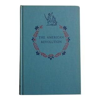 "1950s ""The American Revolution"" Vintage Book"