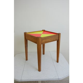 1960s Contemporary Teak Wood Side Table Preview