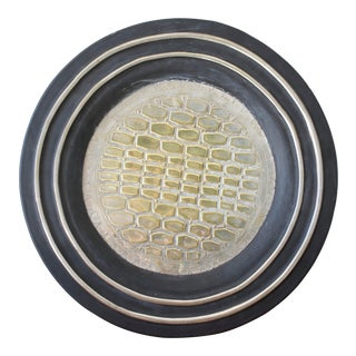Brass Wall Hanging Tray For Sale