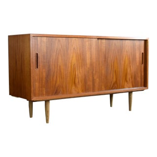 Danish Teak Credenza by Hundevad & Co. For Sale