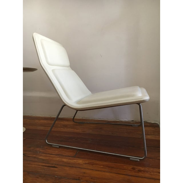 Cappellini Jasper Morrison Cappellini Low Pad Lounge Chair- Tom Dixon Eames Knoll Mid Century Modern For Sale - Image 4 of 5