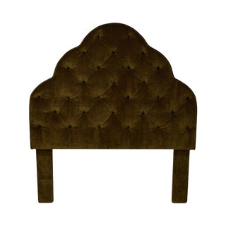 Robert Allen Tufted Upholstered Full Size Headboard