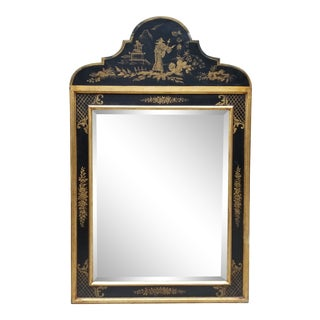 Vintage Ethan Allen Chinoiserie Mirror For Sale