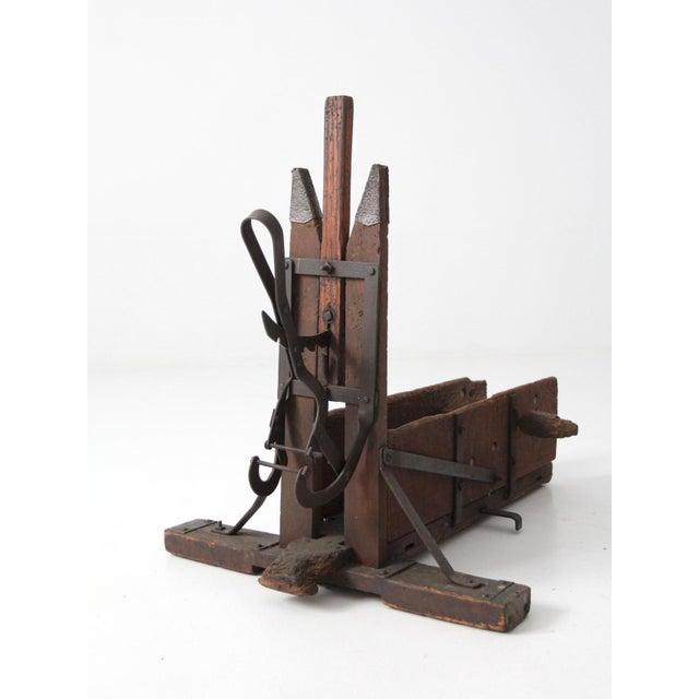 Antique Wood Bender Woodworking Tool Chairish