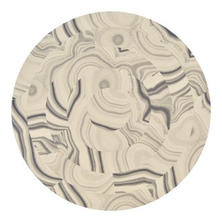 Malachite Placemat in Light Gray For Sale