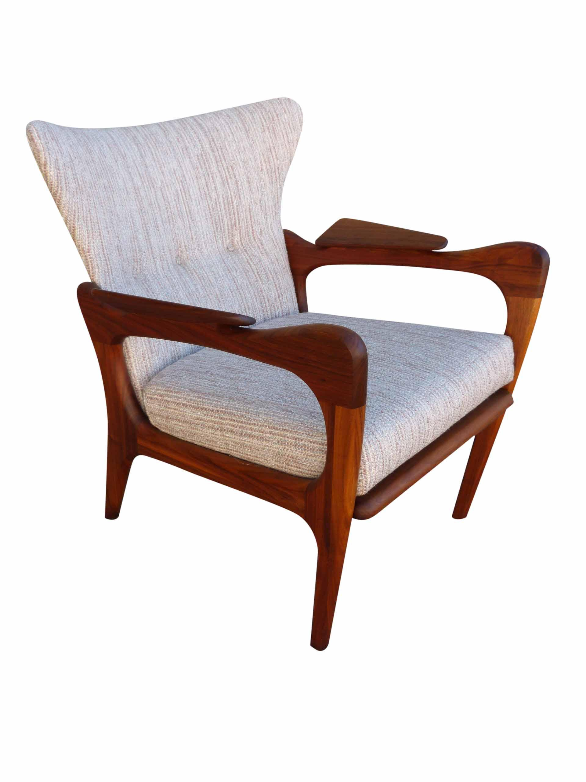 Adrian Pearsall 2291 C Wing Back Lounge Chair
