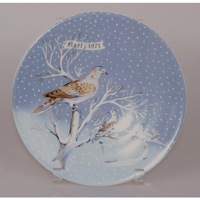 Haviland Two Turtle Doves Plate - Image 2 of 3