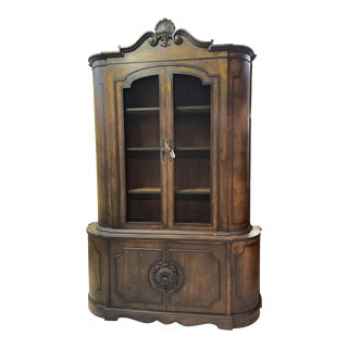 French Country China Cabinet For Sale