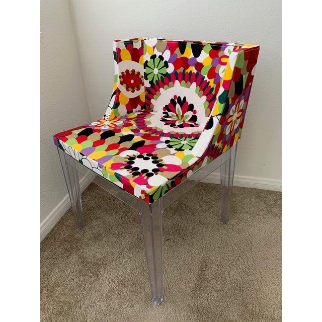 Kartell Phillipe Starck Missoni Mademoiselle Replica Chair Excellent and in almost new condition, this chair is a repro of...