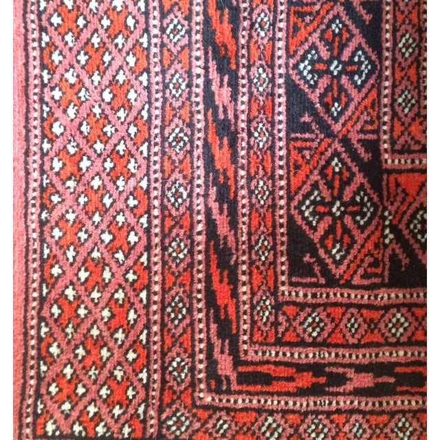 Bokhara Persian Wool Rug - 3′2″ × 5′8″ - Image 5 of 5