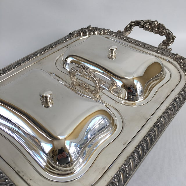 Antique English George III Style Server - Image 8 of 11