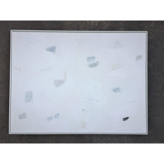 Abstract Blue and White by Kimberly Moore For Sale - Image 6 of 6