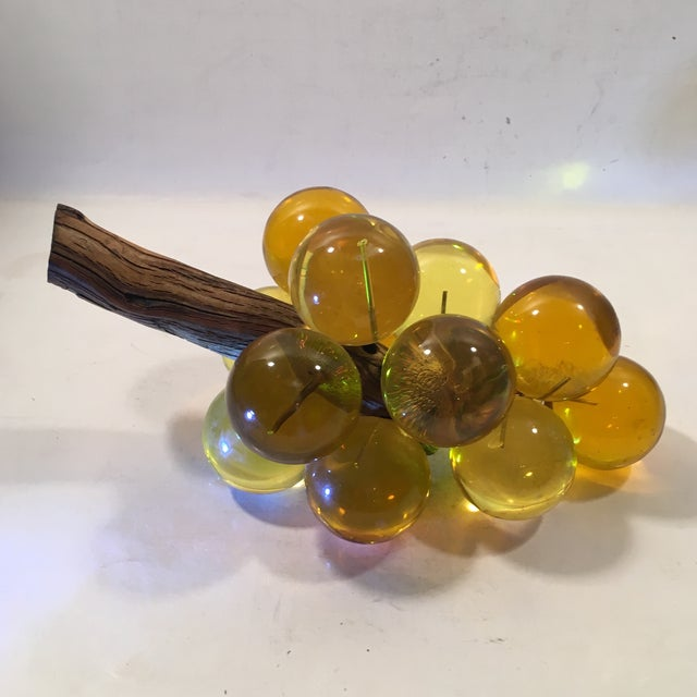 Amber Lucite Grapes - Image 4 of 8