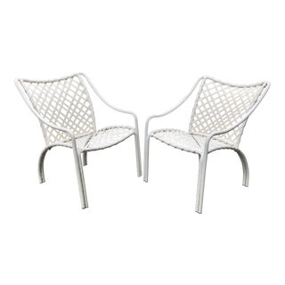 Brown Jordan Lounge Chairs—a Pair For Sale