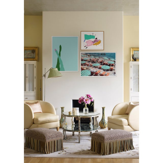 Contemporary Milanese Summer Gallery Wall, Set of 3 For Sale - Image 3 of 10