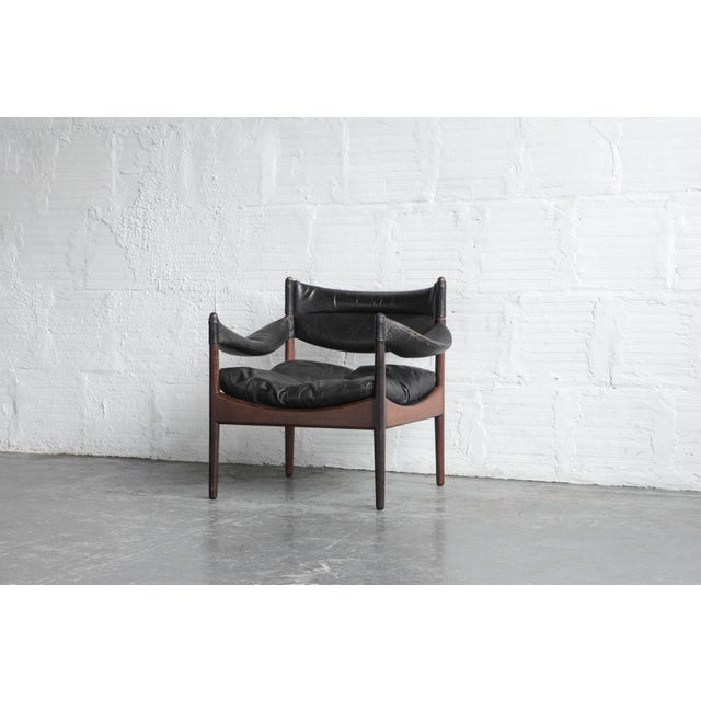 Kristian Solmer Vedel Modus Lounge Chair & Ottoman - Image 6 of 8