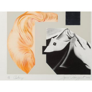 1979 Lithograph by James Rosenquist, Balcony For Sale