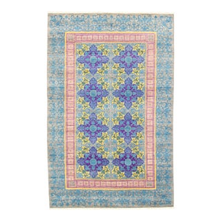 "Pakistani Hand-Knotted Rug-6'0"" X 9'2"" For Sale"