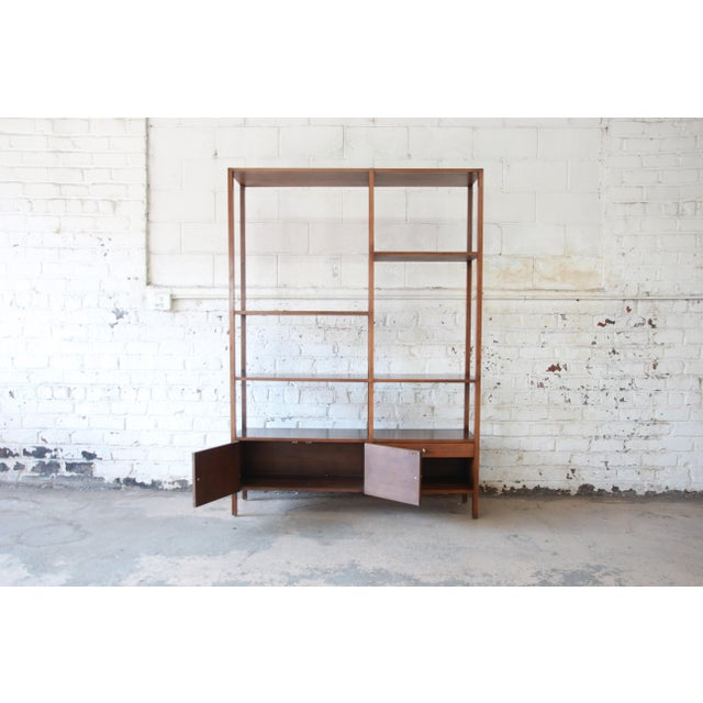 Paul McCobb Planner Group Mid-Century Wall Unit or Room Divider For Sale - Image 9 of 11