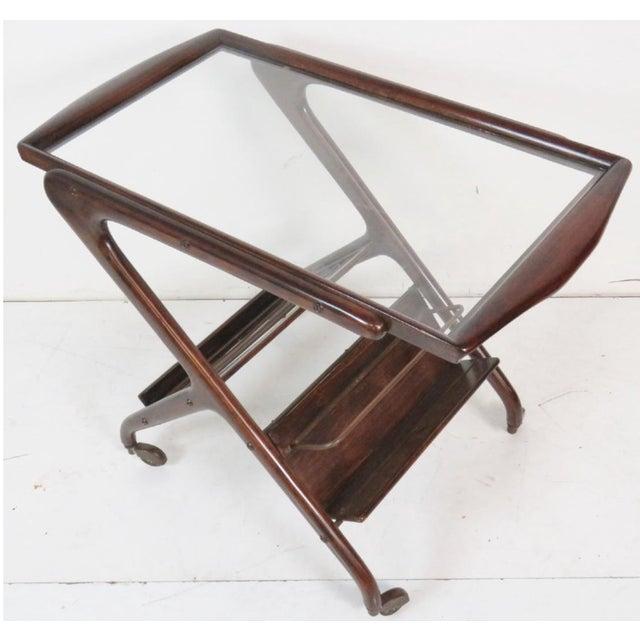 Ico Parisi Ico Parisi Style Bar Cart For Sale - Image 4 of 4