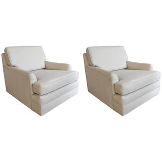 1960s Harvey Probber Floating Lounge Chairs - a Pair