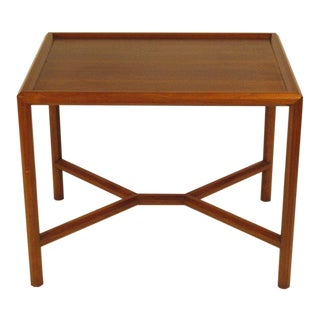 1950s Vintage Edward Wormley for Dunbar Walnut Table For Sale
