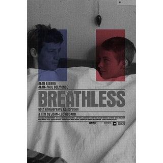 Godard's Breathless Original Movie Poster Design by Rodarte