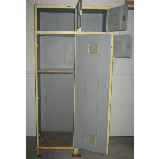 Industrial 8-Compartment Locker Unit - Image 3 of 11