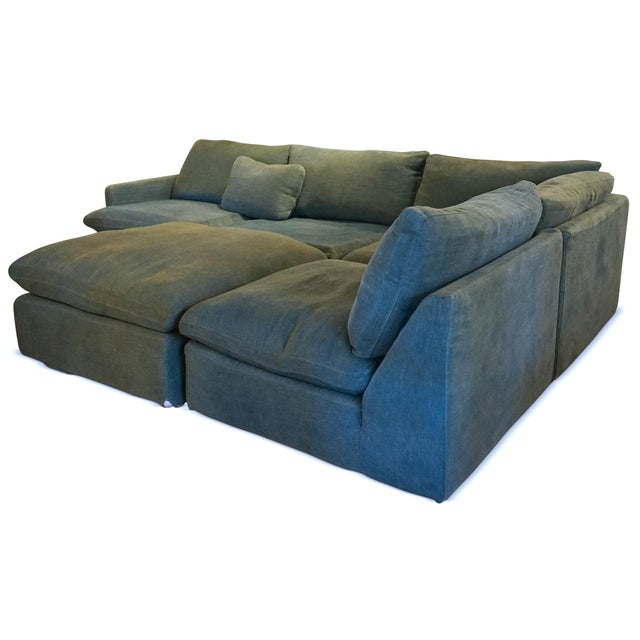 Contemporary Timothy Oulton Modular Sofa For Sale - Image 3 of 5