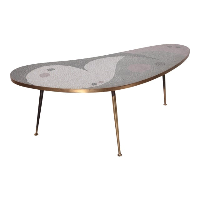 Huge Berthold Muller Mosaic Coffee Table For Sale