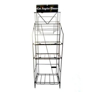Vintage Industrial LA Times Display Stand/Rack