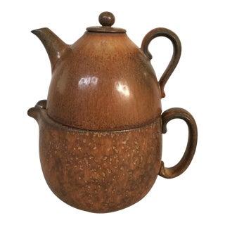 Gunnar Nylund Mid-Century Modern Tea Pot Set
